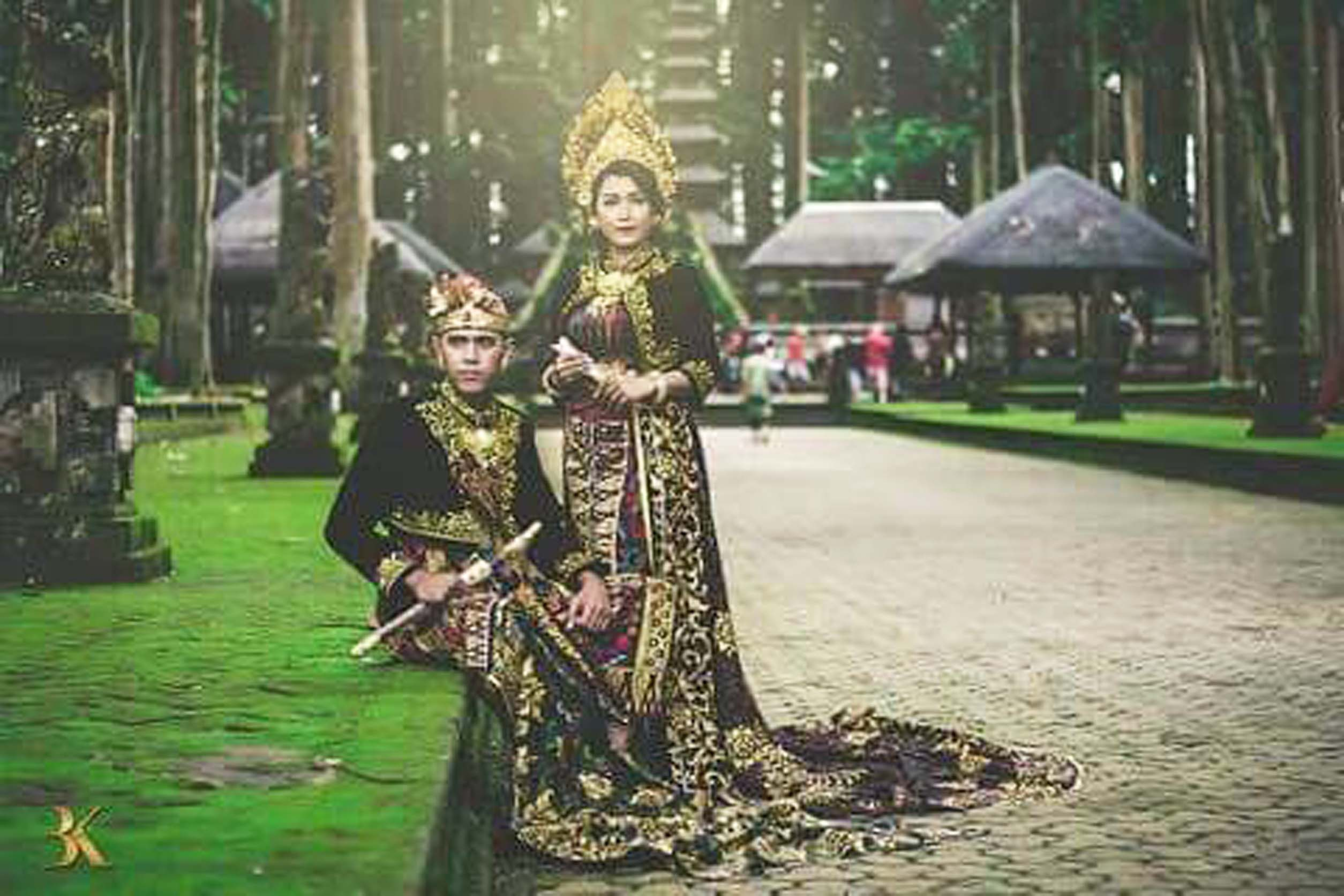 foto wedding sangeh